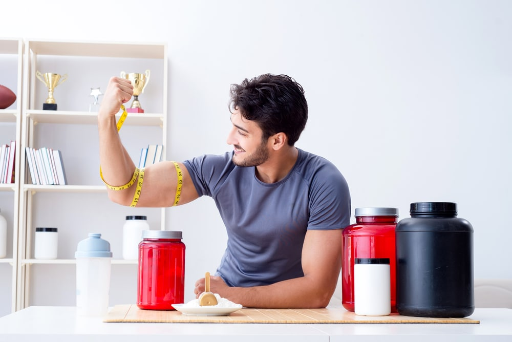 Taking a powdered dietary supplement boosts muscle strength